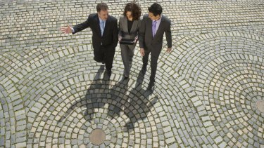 Some experts suggest walking meetings as a way of making sure gatherings don't run overtime.