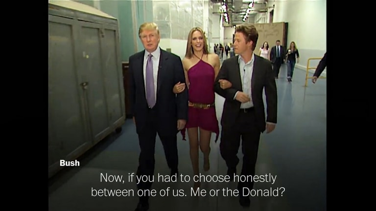 Vulgar comments about women by Donald Trump that emerged during the presidential campaign.