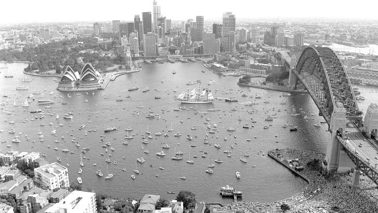 30 years on: Pomp and protest as Sydney celebrates the ...