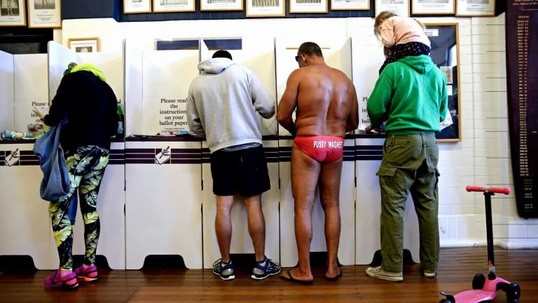 The AEC said it expected a record proportion of Australians would be enrolled to vote.