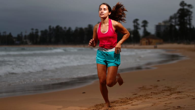 Jemma Caprioli has been slowly building up her fitness since gastrectomy surgery in November.