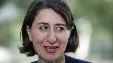 Under pressure over stadiums: Gladys Berejiklian.