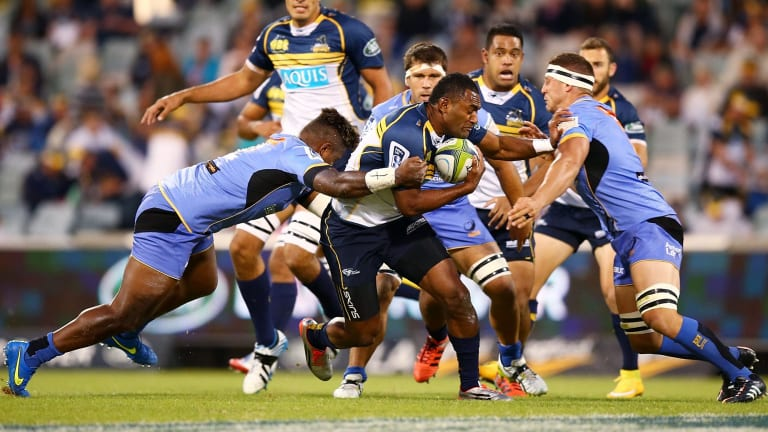 Tevita Kuridrani has re-signed with the Brumbies until the end of the 2017 season.