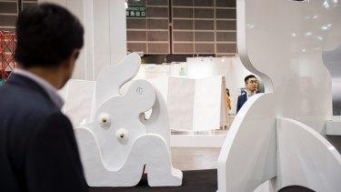 Australian Sanne Mestrom's four-piece sculpture sold for almost $200,000.