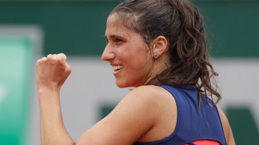 Australia's Jaimee Fourlis is booked for her second Hobart International.