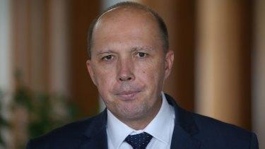 Immigration Minister Peter Dutton said Australians are sick of political correctness.
