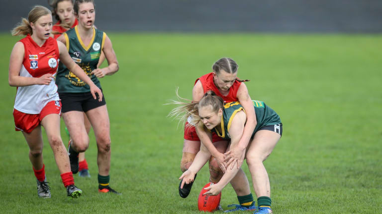 The women's AFL has proved popular with the public.