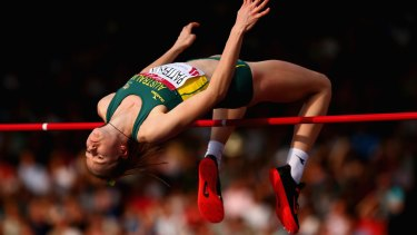 Teen spirit: Eleanor Patterson skipped the Junior World Championships to compete in Glasgow.