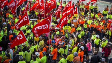 Up to 30,000 construction workers are set to win a big pay increase.