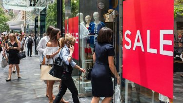 The higher-than-expected spending in December didn't take place in the retail sector which saw sales dip 0.2 per cent, according to the Commonwealth Bank Business Sales Indicator.