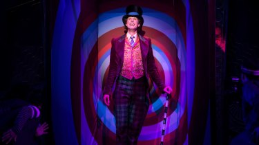Paul Slade Smith as Willy Wonka in