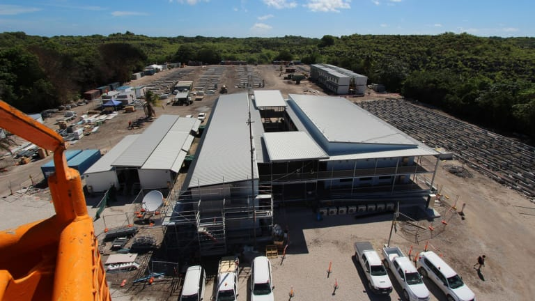 Canstruct rebuilt the Nauru detention centre after it was partially destroyed in a 2013 riot.