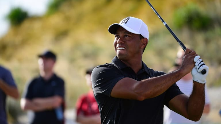 Tiger Woods has rediscovered some of his top form.