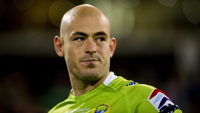 End to stand-off: Terry Campese.