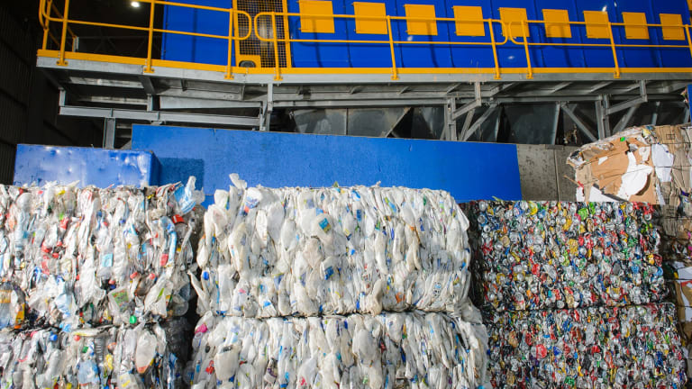 More than 60,000 tonnes of rubbish will be sorted at the facility every year.