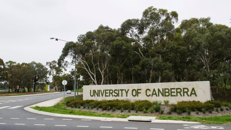 The University of Canberra campus at Bruce.
