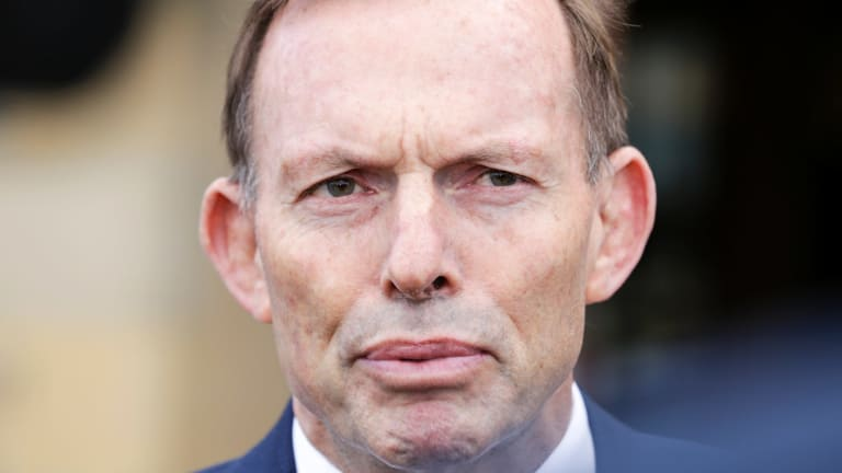 """Tony Abbott used the assault on Friday to condemn the """"ugliness"""" of some same-sex marriage supporters."""