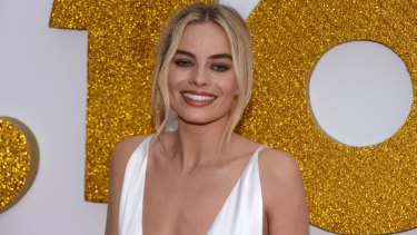 Margot Robbie at the Australian premiere of
