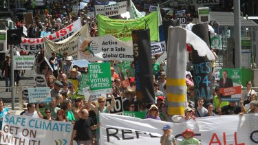 State election rally in 2010 calling on all political parties to replace Hazelwood.