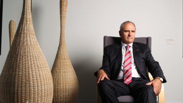 NAB chairman Ken Henry says big banks should be just as good at disruption as any fintech player.