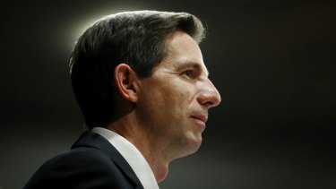 "Education Minister Simon Birmingham has described the sector as a ""hotbed for shonks and rorters""."