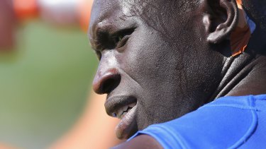 Majak Daw has a new rival to contend with for positions at North Melbourne.