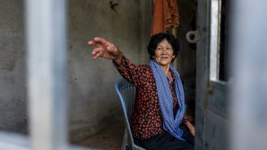 Sy Heap, the mother of jailed activist Tep Vanny.