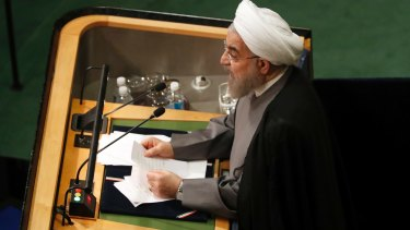 """Iranian president Hassan Rouhani has been described as """"a son of the establishment""""."""