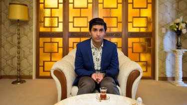 Osamah Sami portrays a more nerdy version of himself in Ali's Wedding.