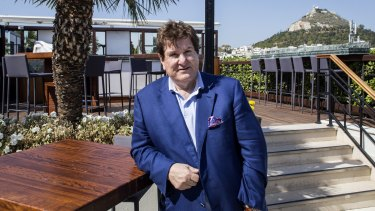 Billionaire Con Makris doesn't trust the sharemarket and is wedded to bricks and mortar.