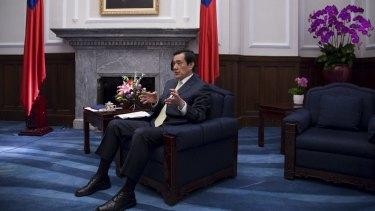 Taiwanese President Ma Ying-jeou.
