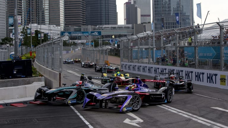 Winning formula?: Hong Kong hosts the opening round of the 2017-18 Formula E series this weekend.