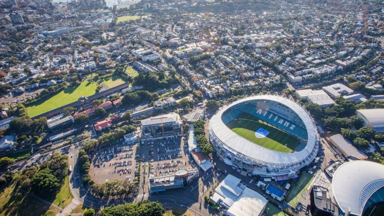 Appealing to the masses: The government had expected a different reaction to the slated rebuild of Allianz Stadium.