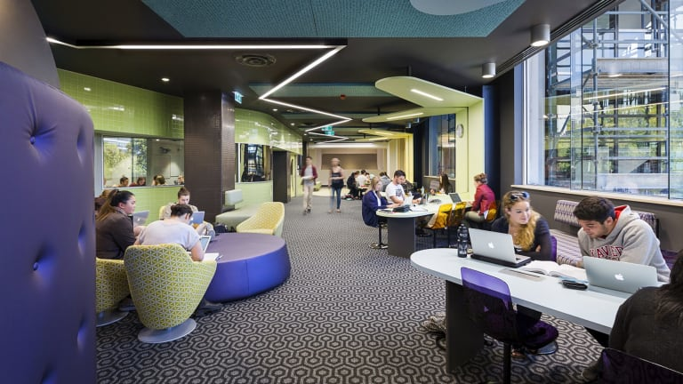 Harmer Architecture's revamp of the Australian Catholic University in Fitzroy.