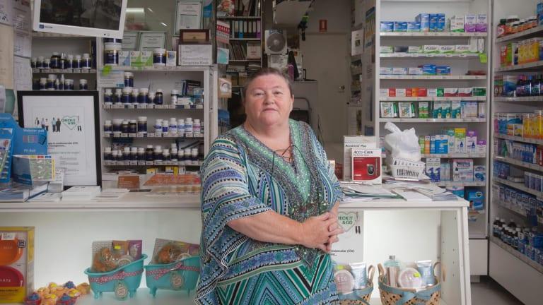Karen Baines is very worried about the codeine change.