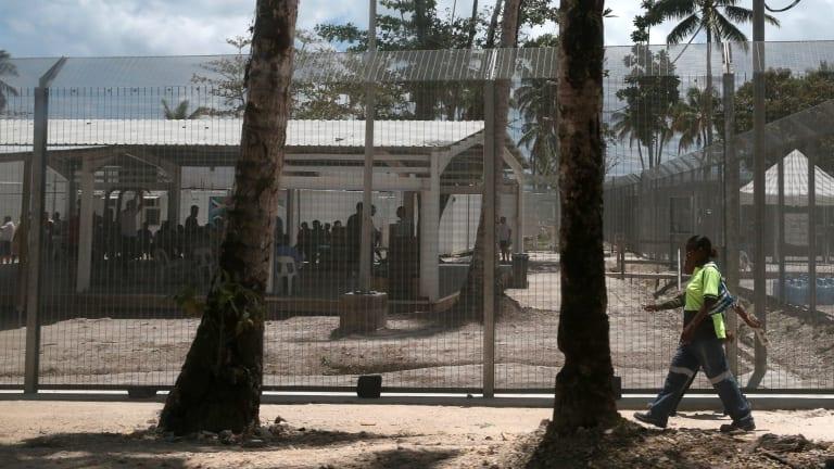 Australia's offshore immigration detention centre on Manus Island.