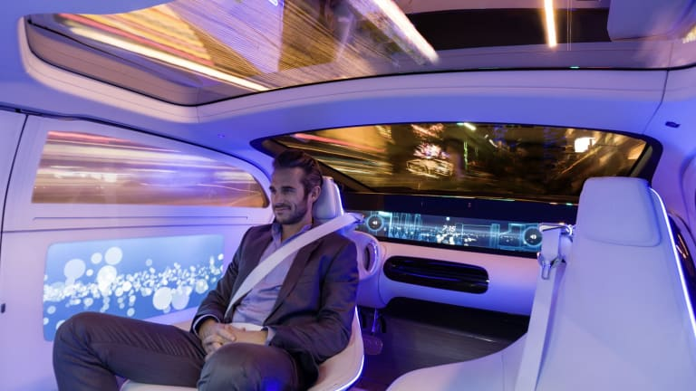 Who Gets Fined In A Driverless Car And Other Legal Barriers - Car show barriers