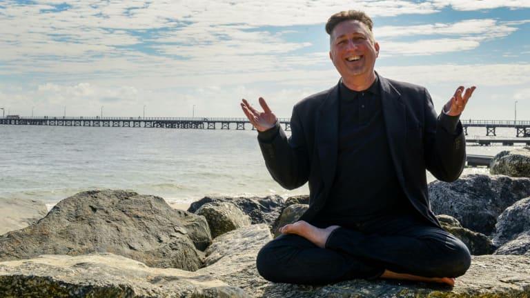 Contending for an Oscar ... former Buddhist monk turned filmmaker Greg Sneddon.