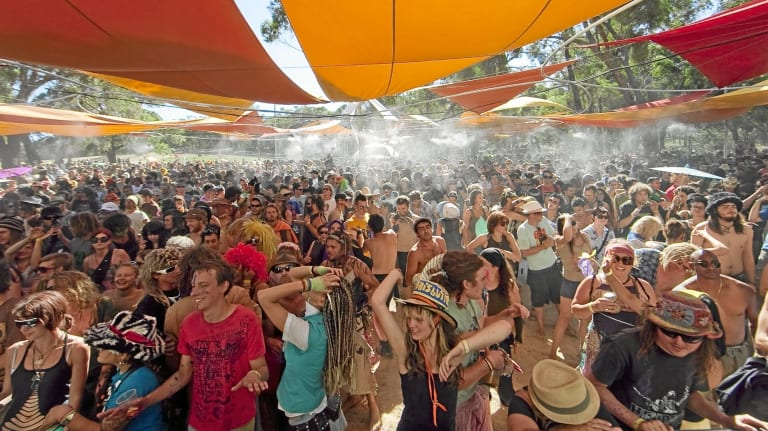 The Rainbow Serpent Festival.