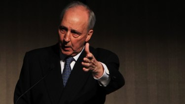 """Looking ahead: Former prime minister Paul Keating has a """"big picture"""" view of relations with China."""