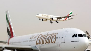 Emirates claims it pays a disproportionately high price for air-traffic control services.