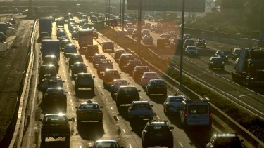 Traffic jams get worse as the city's population soars.
