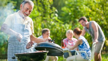 Big homes with pretty gardens are a great base for retirees to entertain friends and family.
