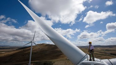 Mr Abbott said wind farms are noisy and ugly.