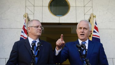 Prime Minister Malcolm Turnbull and Treasurer Scott Morrison announce a royal commission into the banking sector.