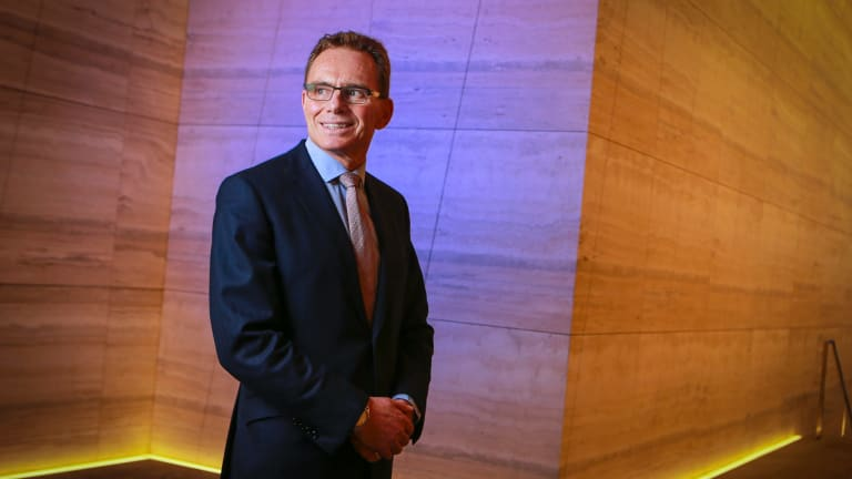 BHP CEO Andrew Mackenzie has set a target of having a 50/50 evenly male/female workforce.