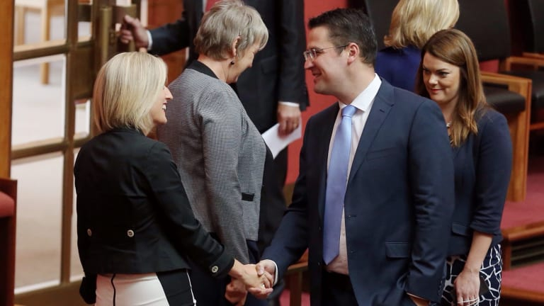 The electorate offices of senators Zed Seselja and Katy Gallagher have incurred vastly different costs, despite both being in central Civic.