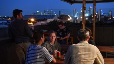 The Cornish Arms Rooftop Bar.