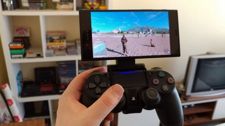 The phone naturally taps into Sony's ecosystem of other devices, including playing your PS4 remotely.