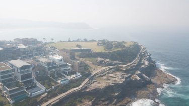 Sydney was cloaked in smoke on Monday, with the poor quality air extending into Tuesday.